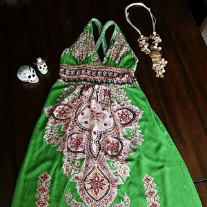 Mexico Inspired multi way dress